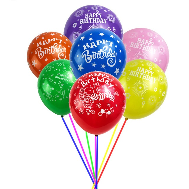 Happy Birthday Helium Gas Balloons Online Hyderabad